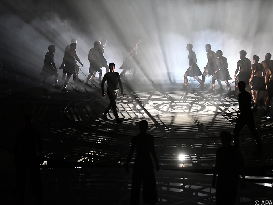 Spektakuläre Aufführung im Salzburger Landestheater