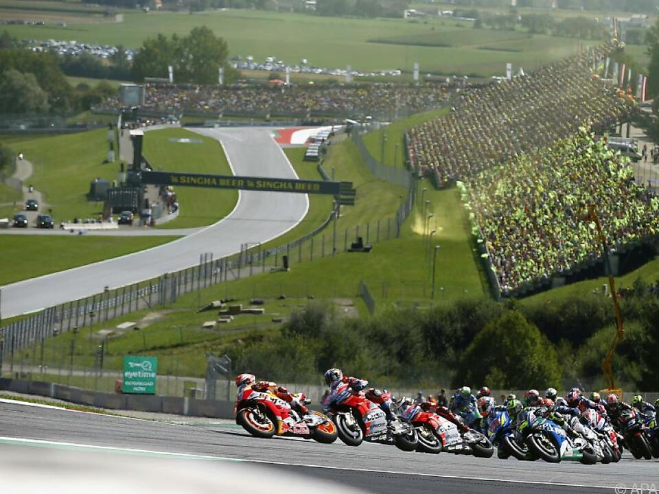 Spektakuläre Bilder der MotoGP flimmern auch künftig über ServusTV
