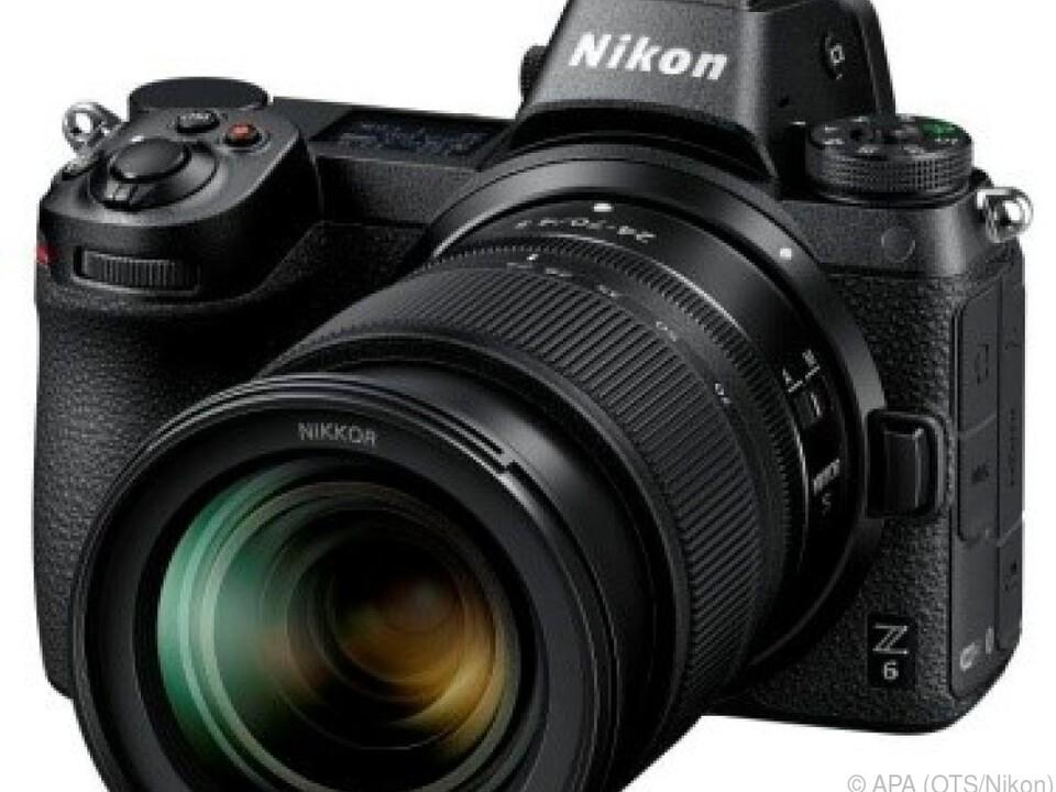 Spiegellose Vollformatkamera Nikon Z 6