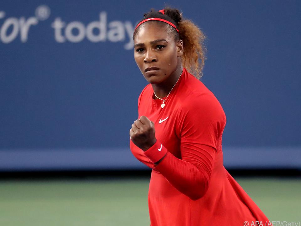 Starke Leistung von Serena Williams
