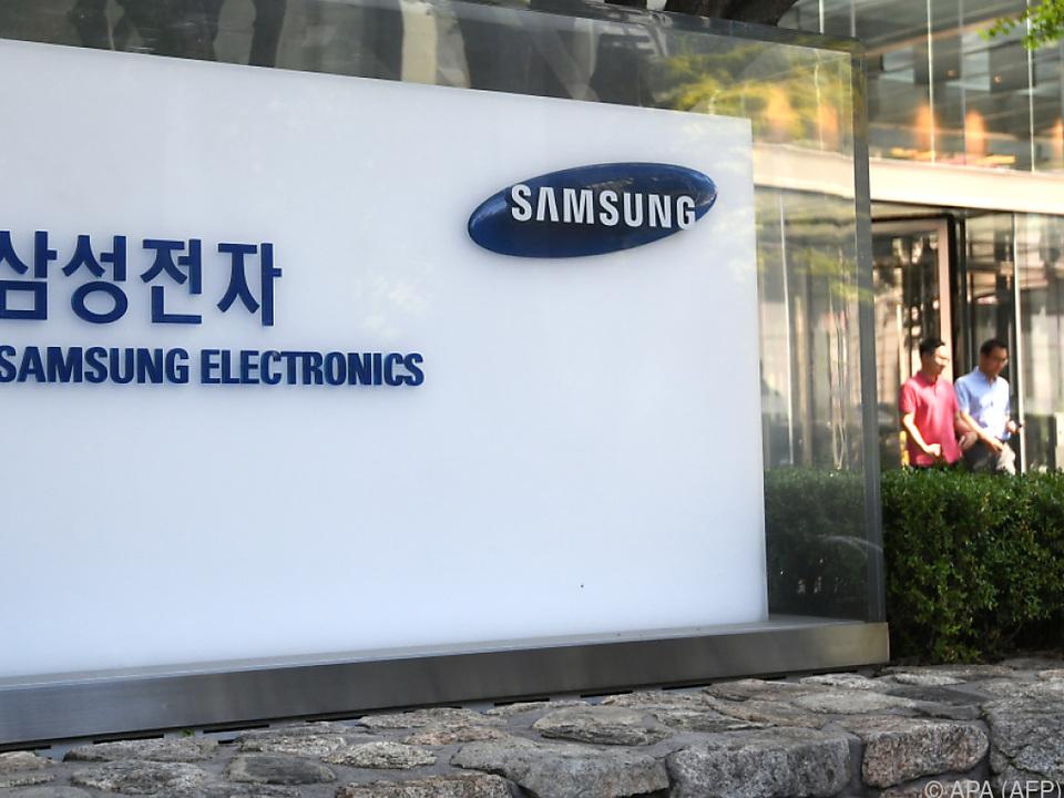 Südkoreanischer Elektronikriese Samsung