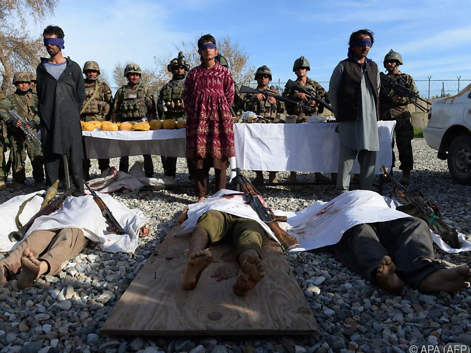 Taliban verüben immer wieder Anschläge in Afghanistan