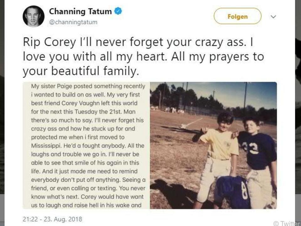 Tatum mahnt, in Kontakt mit den Freunden zu bleiben