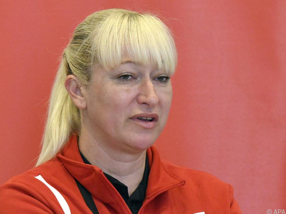 Teamtrainerin Svetlana Ilic