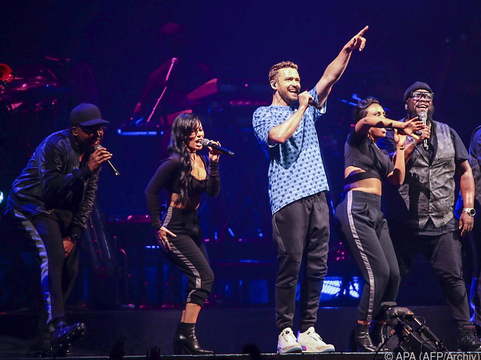 Timberlake lieferte große Show ab