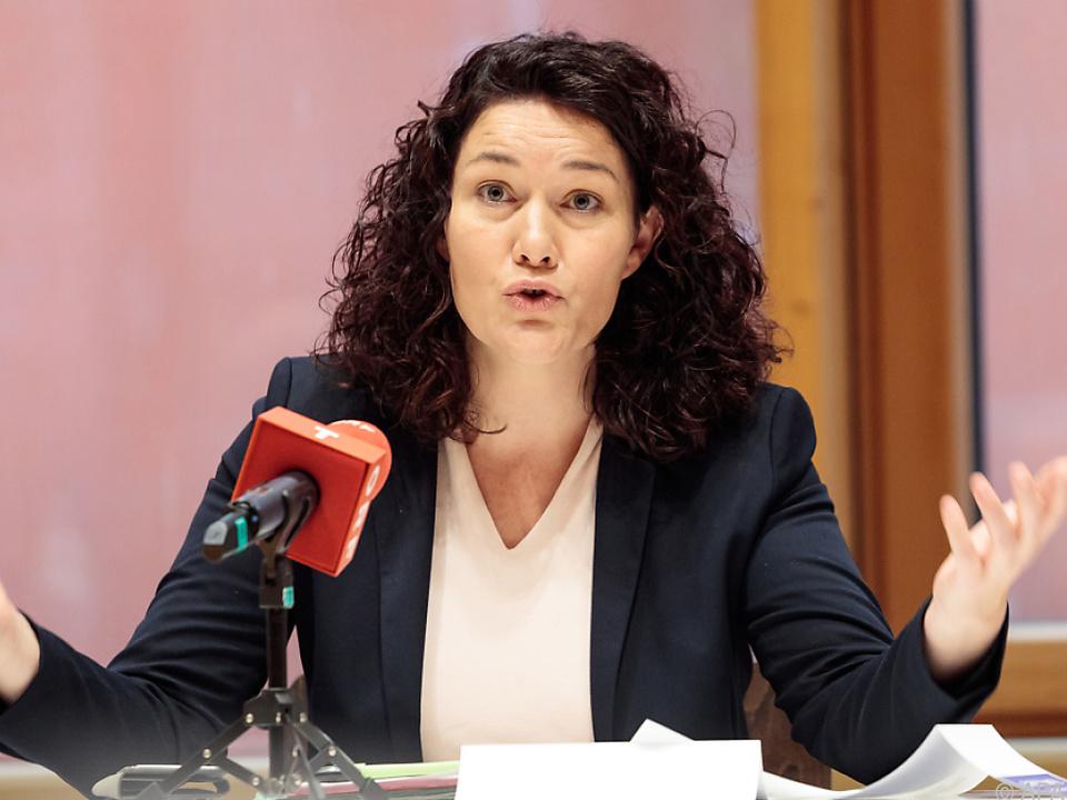 Tirols Grünen-Chefin Ingrid Felipe