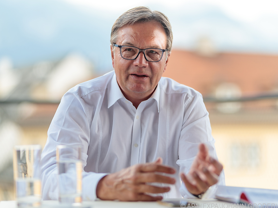 Tirols Landeshauptmann Günther Platter im APA-Interview