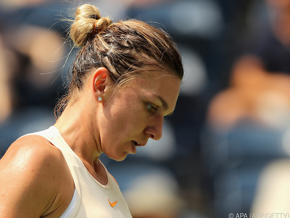 Topgesetzte Halep out