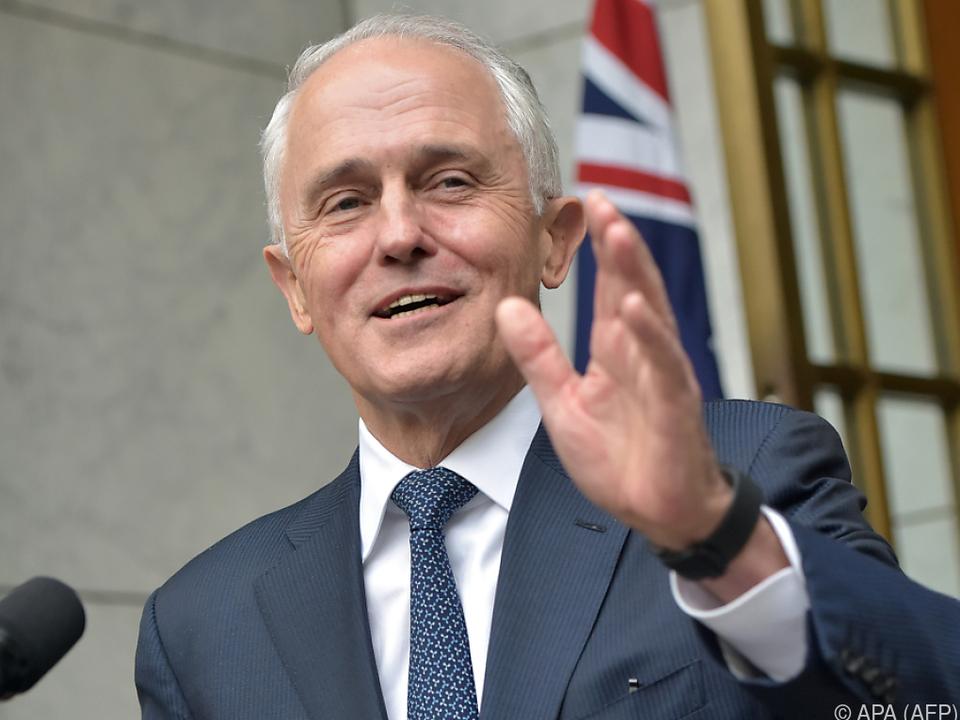 Turnbull gab seinen Abschied aus dem Parlament bekannt