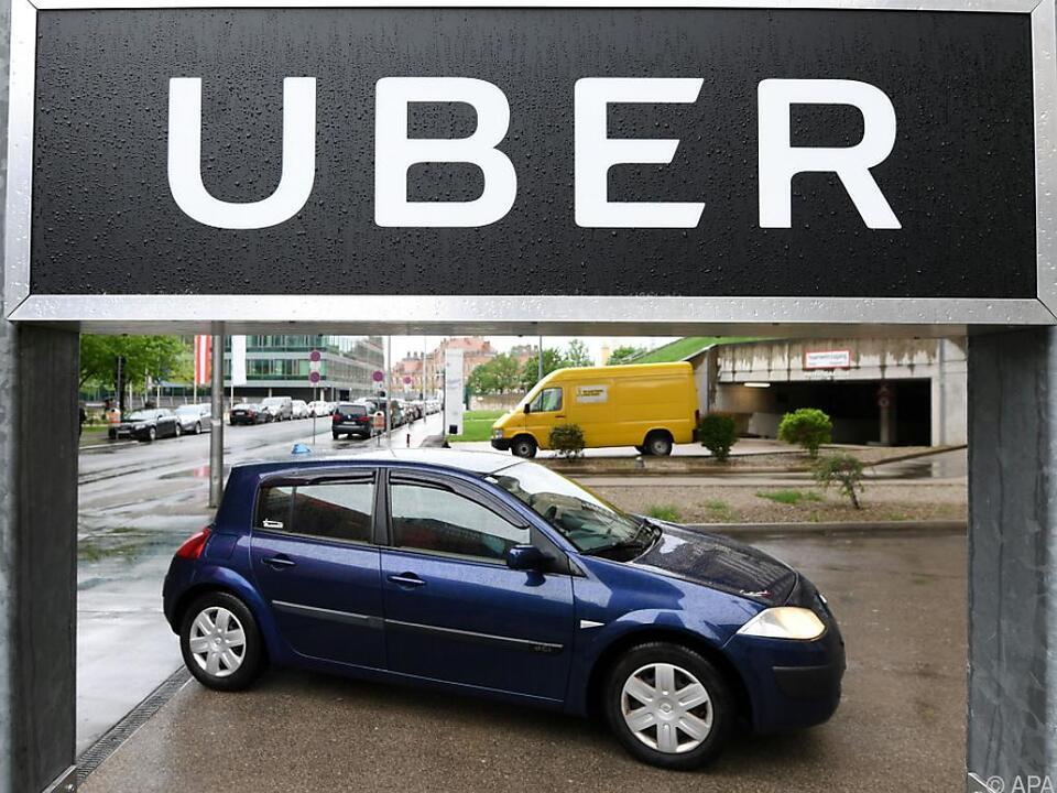 Uber mit massiven Startschwierigkeiten in Österreich