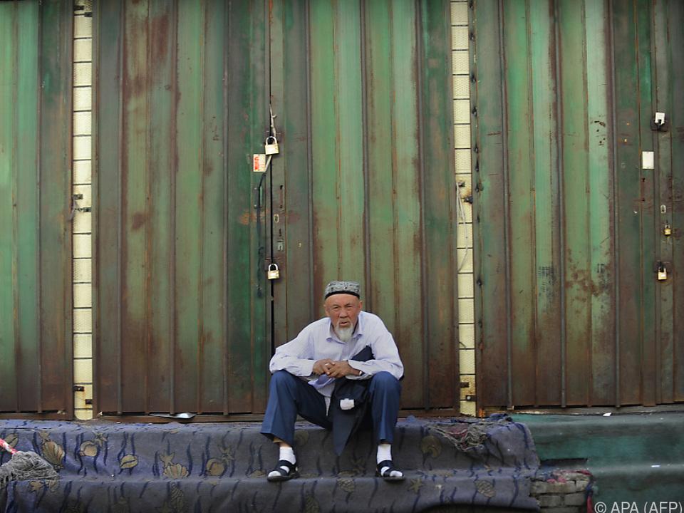 Uiguren sind eine muslimische Minderheit in China