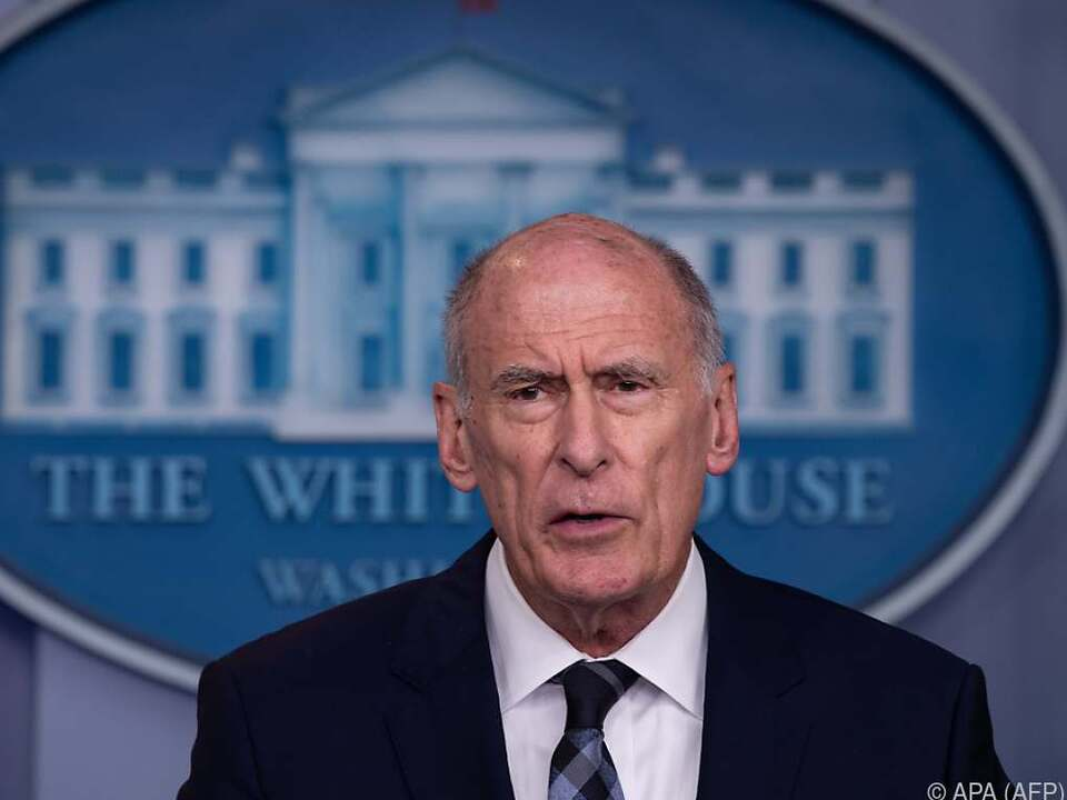 US-Geheimdienstdirektor Dan Coats warnt vor russischer Einmischung