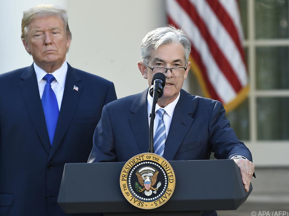 US-Präsident nahm Powell ins Visier