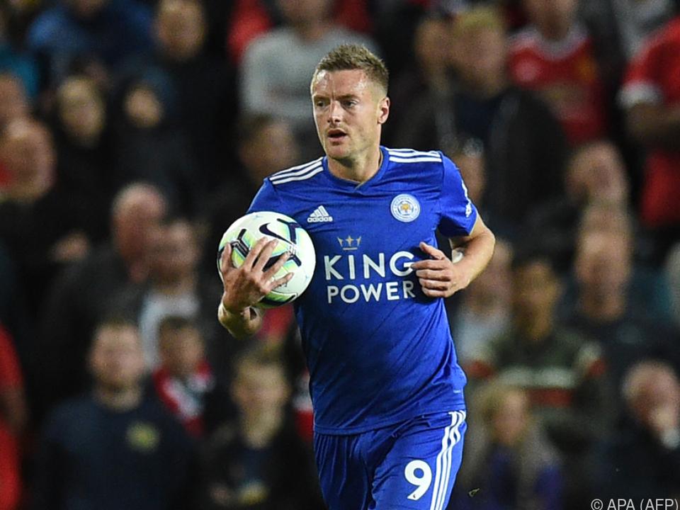 Vardy will wieder uneingeschränkt für Leicester City da sein