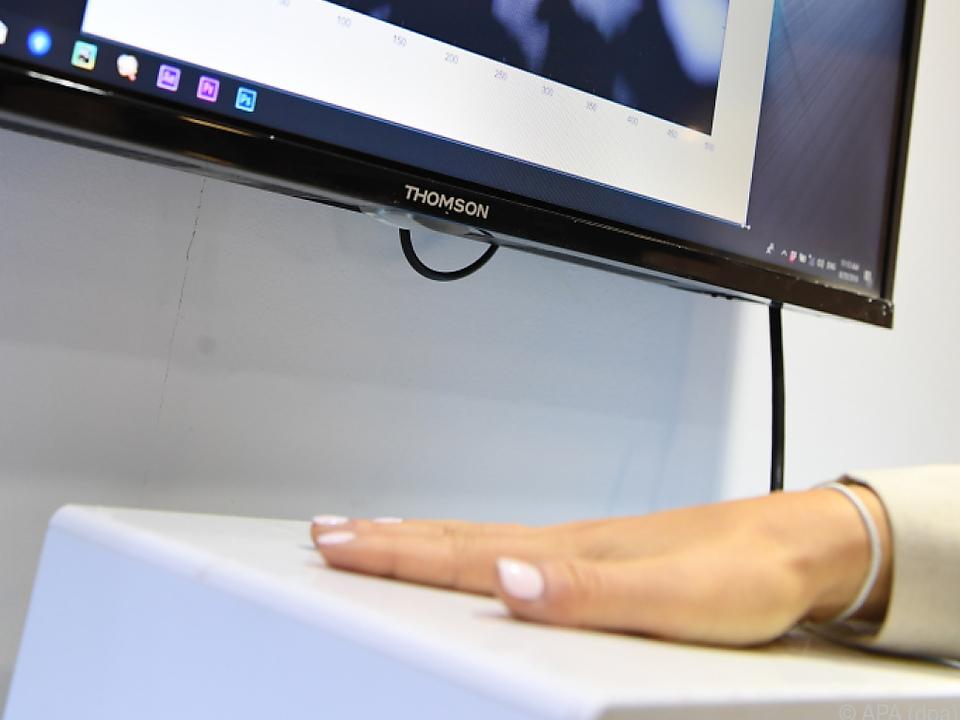 Der Sensor verfügt zudem über eine biometrische Zugangskontrolle
