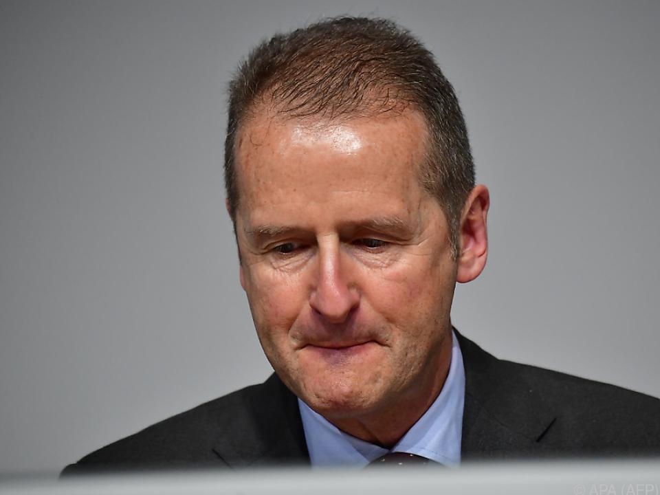 VW-Chef Herbert Diess unter Druck