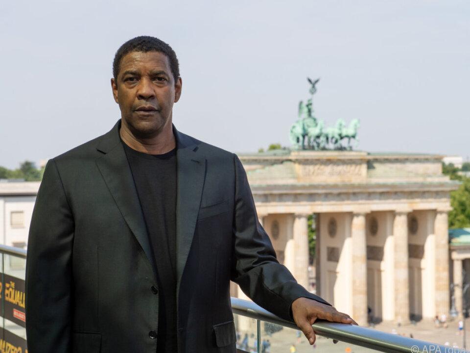 Washington war in Berlin, um für den Film \