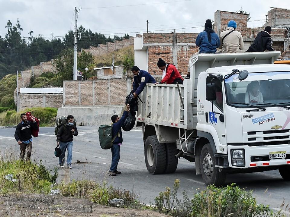 Wer kann, flüchtet aus Venezuela