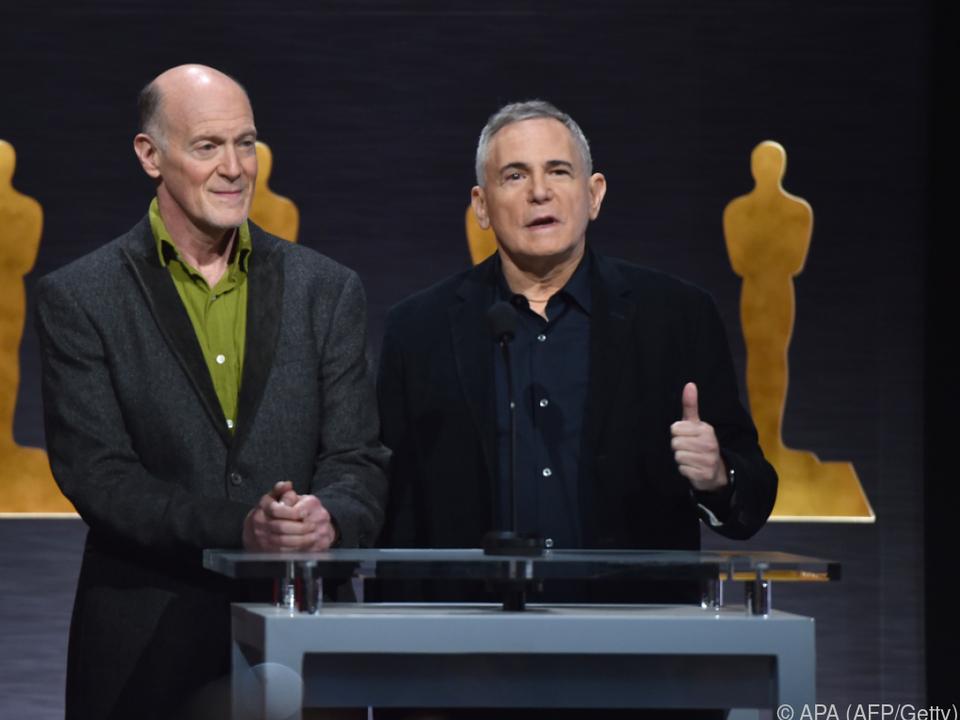 Zadan (rechts) bei der Oscar-Verleihung im Jahr 2015
