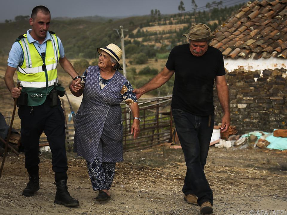 Zahlreiche Menschen wurden evakuiert