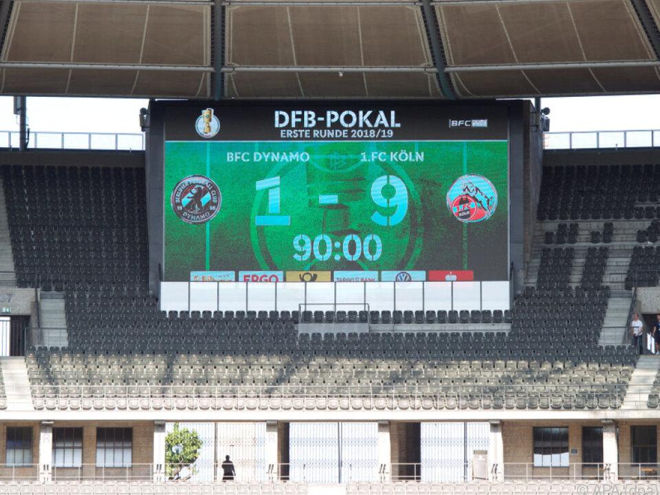 Zehn Tore fielen im Berliner Olympiastadion