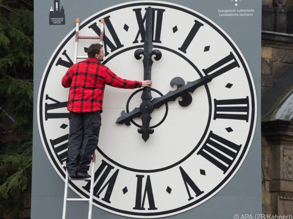 Zeitumstellung vor allem in Deutschland ein Thema
