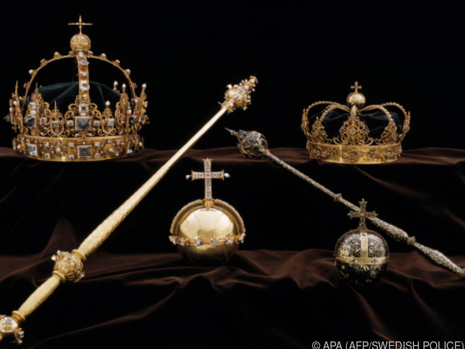 Zwei Kronen und ein Reichsapfel wurden auf dreiste Weise gestohlen