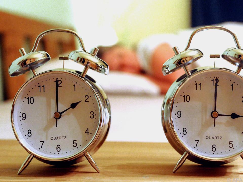Zweimal im Jahr wird an der Uhr gedreht