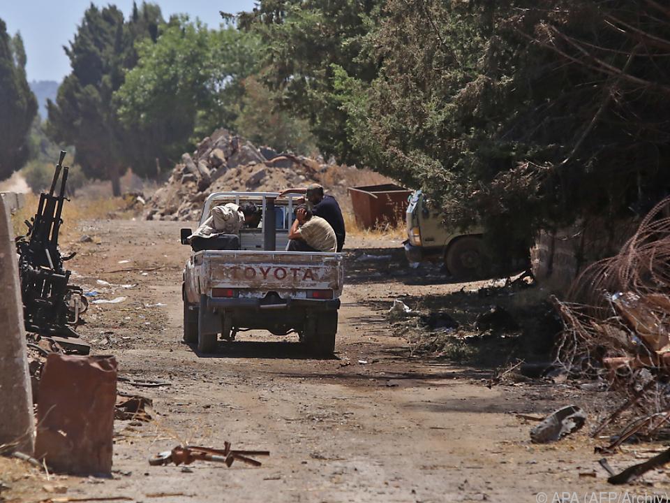 Zwischen den Golanhöhen und Syrien wachen die Blauhelme