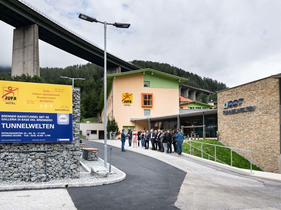 2018 09 07 - Neugestaltung Parkplatz JUFA-Tunnelwelten Steinach