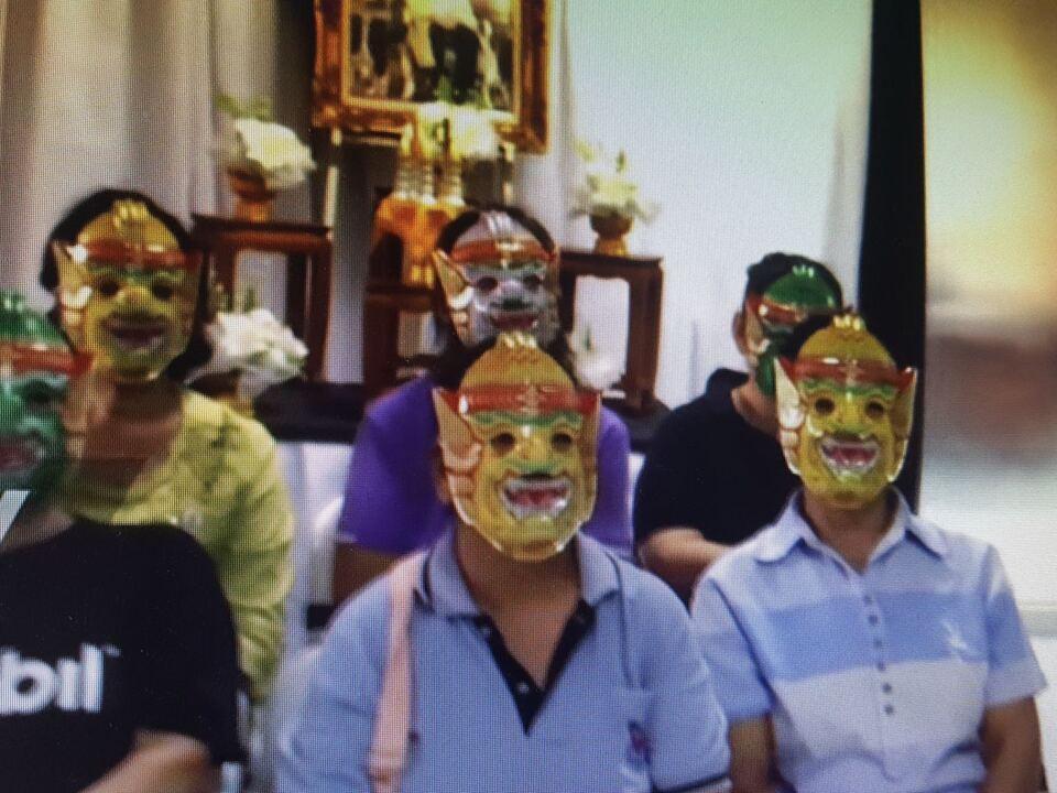 Masken, Pap-Test, Thailand