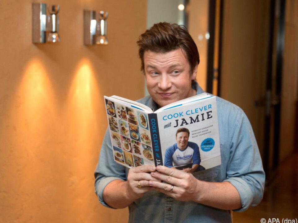 Am Esstisch von Jamie Oliver geht es alles andere als friedlich zu