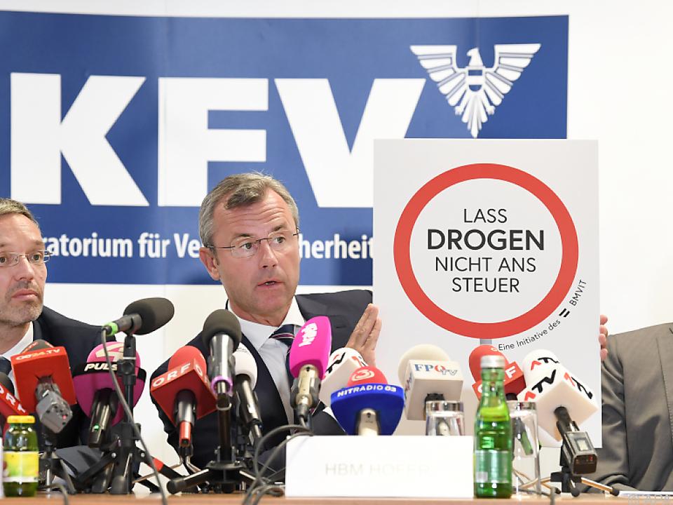Anti-Drogen-Kampagne von Innen- und Verkehrsministerium