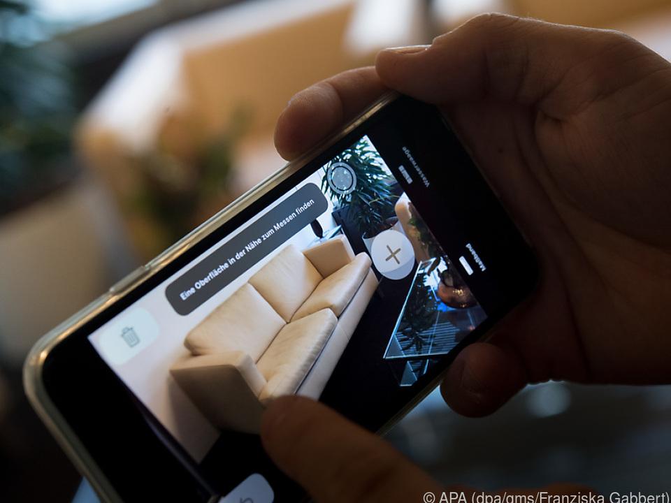 Das neue iOS 12 bietet erweiterter Realität (AR), z.B. eine Vermessungsapp