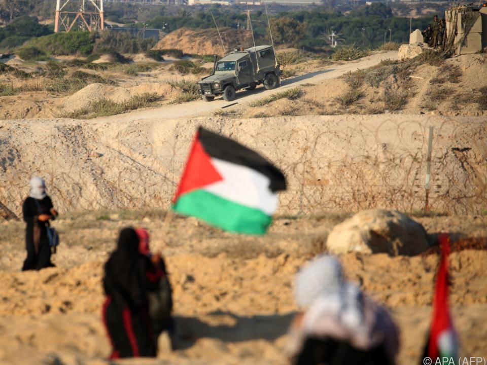 Armut schürt den Konflikt mit Israel noch mehr an