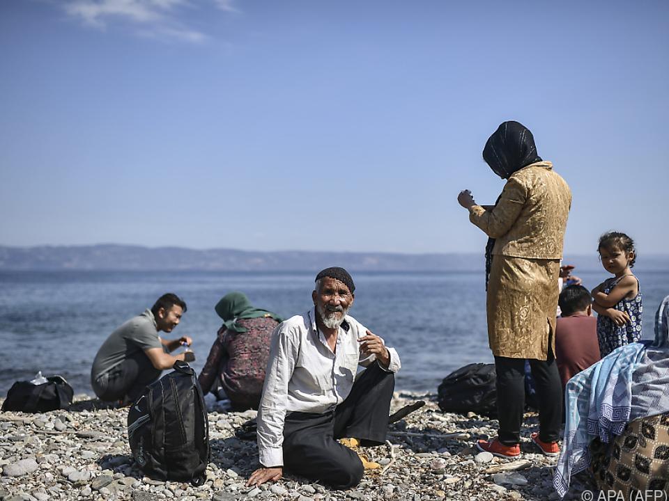 Auf den Inseln der Ostägäis harren zurzeit knapp 20.000 Menschen aus
