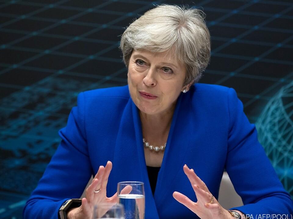 Aussagen von Boris Johnson wies Theresa May entschieden zurück
