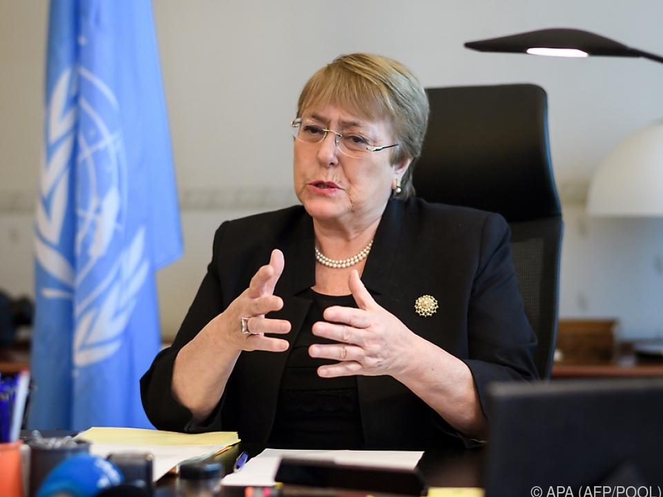 Bachelet ist neue Menschenrechtskommissarin der Vereinten Nationen
