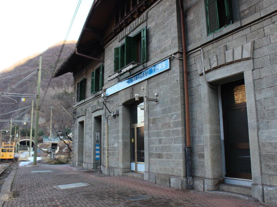 Bahnhof Blumau