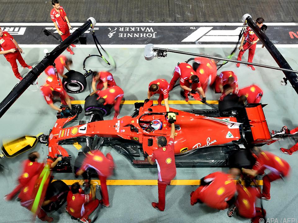 Bei Räikkönen lief im Training alles rund