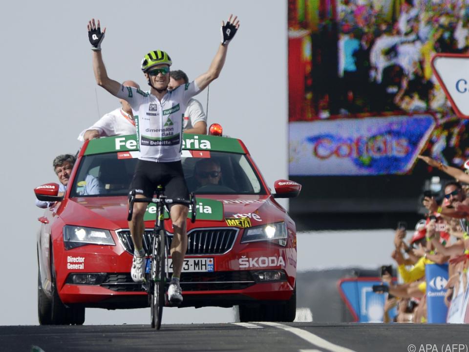 Benjamin King holte sich die neunte Vuelta-Etappe