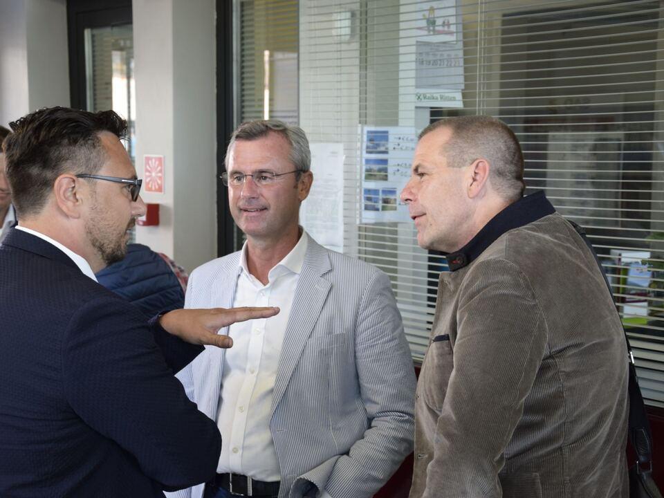 BM Norbert Hofer zu Gast in Bozen 6