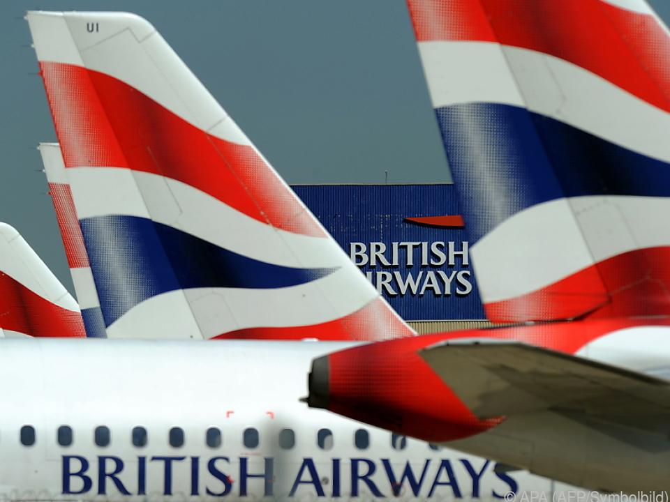 British Airways ist mit Kunden in Kontakt