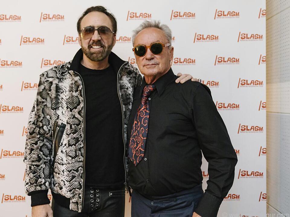 Cage und Kier - die Stargäste des /slash Filmfestivals