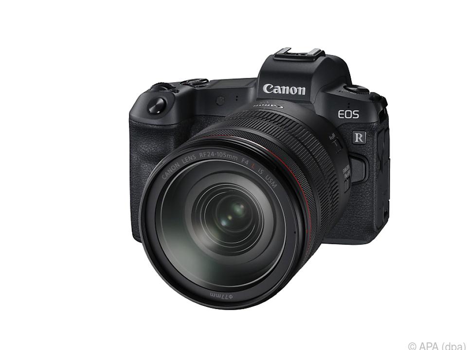 Canons spiegellose Vollformatkamera kommt im Oktober in den Handel