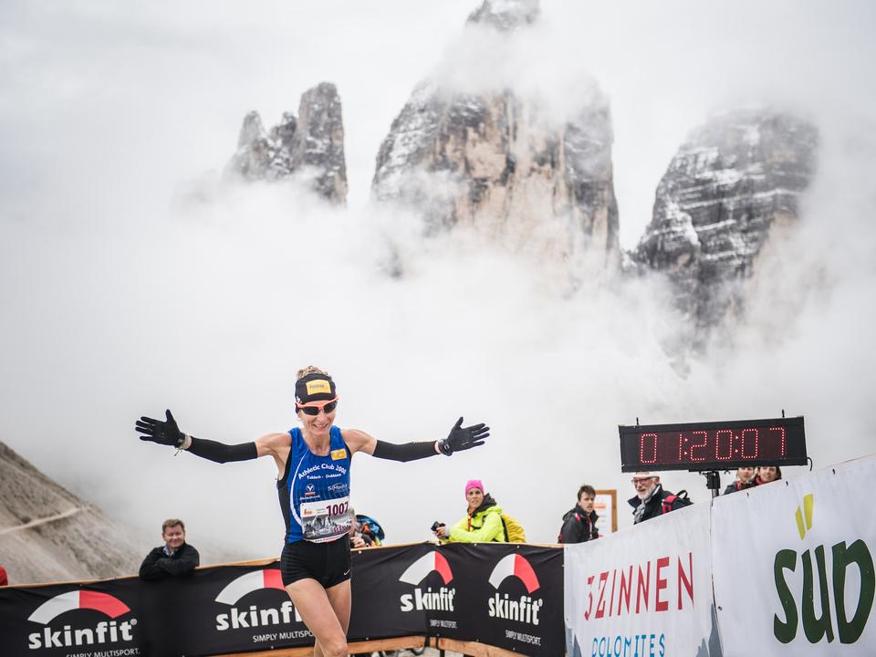 Casaro Elena, Südtirol Drei Zinnen Alpine Run