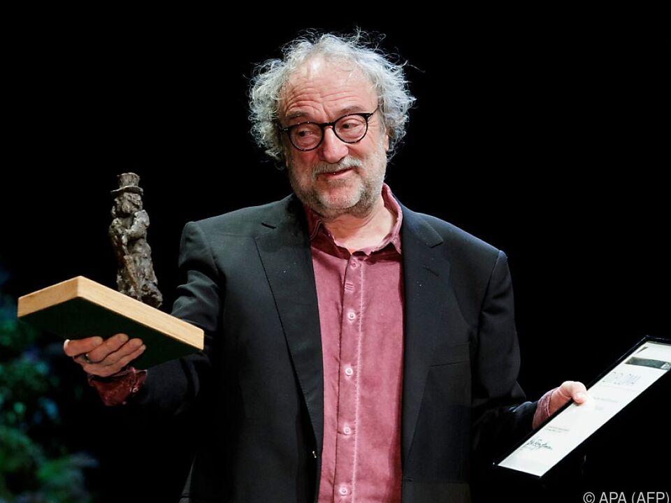 Christoph Marthaler bei der Überreichung des Ibsen-Preises in Oslo