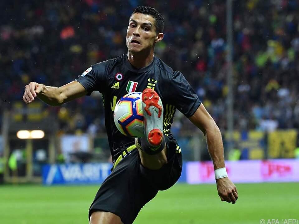 Cristiano Ronaldo wartet weiter auf erstes Tor für Juventus
