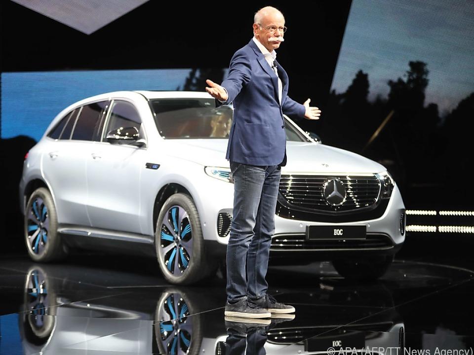 Daimler steigt in den Markt der Elektroautos ein