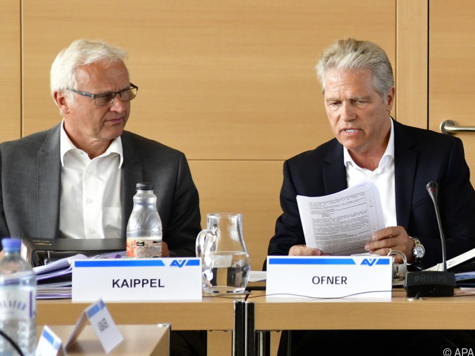 Das E-Mail war von Gustav Kaippel (li.) versendet worden